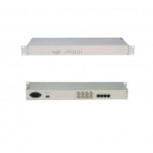 TOIP-4E1:4 ports E1 TDM over IP toip ethernet to E1