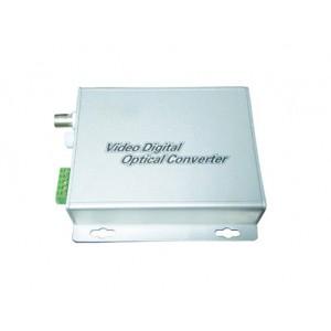 FOV-1:1 channel video to fiber converter,video data RS485 fiber converter