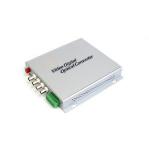 FOV-4: 4 channels fiber optical video multiplexer