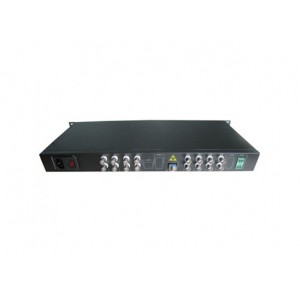 FOV-16:16 channels video Data RS485 fiber converter