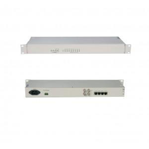 TOIP-2E1:two E1 TDM over IP 10/100M user ports